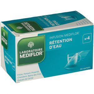 Médiflor Infusion Rétention d'Eau N°4 - 24 sachets