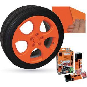 Bombe de peinture orange mat FOLIATEC 2043 2 x 400 ml