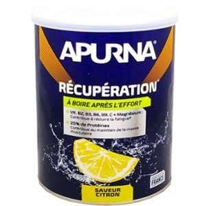 Apurna BOISSON RECUPERATION CITRON - Récupération optimale - Made in France - 400g