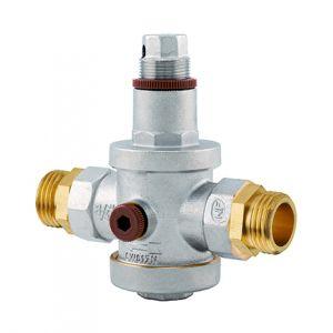 Noyon & Thiebault Réducteur de pression NF double mâle M20x27 prise manomètre