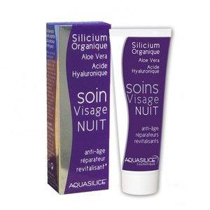Aquasilice Soin visage nuit anti-âge