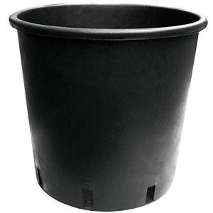 Nuova Pasquini & Bini Pot rond noir 25L 35x28 - Pasquini E Bini