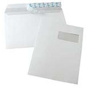 La couronne 250 enveloppes 22,9 x 32,4 cm avec fenêtre 5 x 10 cm
