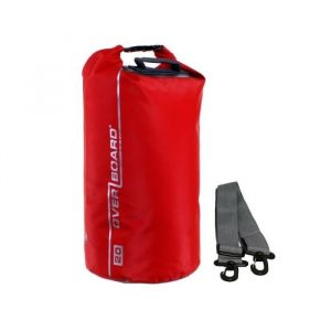 Overboard Sac Étanche Tubulaire - 20 Litres - Rouge