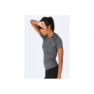Odlo Women´s SUW Top Crew Neck S/S Performance Light - Sous-vêtement synthétique taille XS, gris