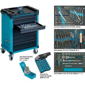 Hazet Servante à outils avec assortiment d'outils 178-6/169