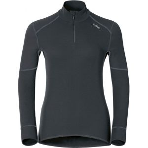 Odlo Shirt ML 1/2 zip X-WARM T-shirt manches longues femme Femme black FR: S (Taille Fabricant: S)