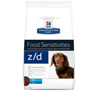 Hill's Prescription Diet z/d canine Mini Allergy & Skin Care - Sac 6 kg