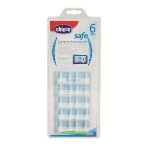 Chicco 10 cache-prises avec clefs