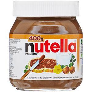 Ferrero Nutella - Pâte à Tartiner aux Noisettes et au Cacao 400 g