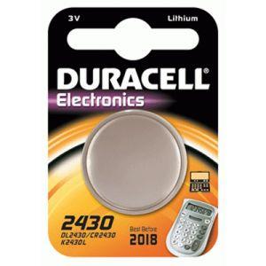 15072358 - Blister de 1 pile lithium Electronics, 3V/256mAh, format CR2430