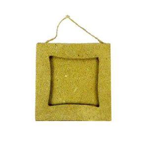 decopatch Mini Cadre carré - papier mâché - 8 cm