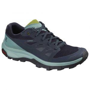 Salomon Chaussures Outline Goretex - Trellis / Navy Blazer / Guacamole - Taille EU 36 2/3