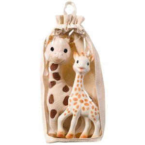 Vulli Set peluche Girafe + Sophie la girafe