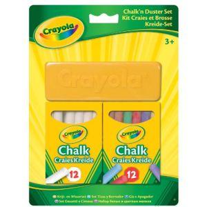 Image de Crayola Kit craies et brosse