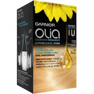 Garnier Olia - Coloration permanente sans ammoniaque n°112 Blond Beige