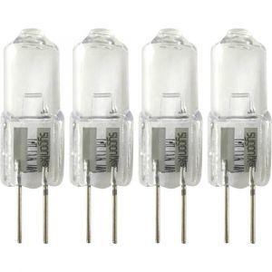 Sygonix Ampoule halogène LD-JC-G4-E/10W G4 10 W blanc chaud 4 pc(s)
