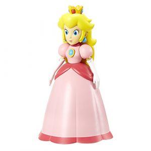 Jakks Pacific Figurine - World of Nintendo - Serie 1-3 - Super Mario - Princess Peach - Articule - 11 cm [Figurine]