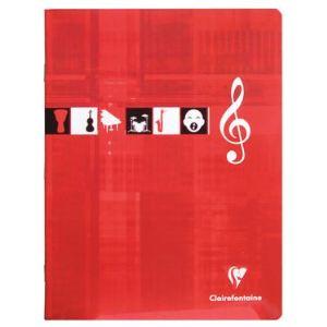 Clairefontaine Metric (3798C) - Cahier de musique et chant 17x22cm 56 pages