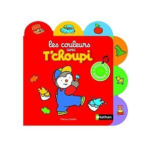 Diset T'choupi - Livre sonore les couleurs avec T'choupi