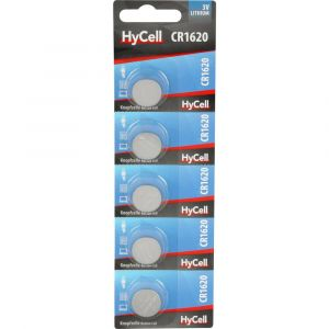 HyCell Pile bouton CR 1620 lithium 3 V 5 pc(s)