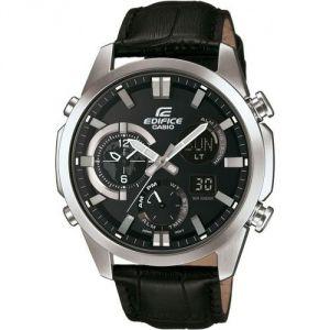Image de Casio ERA-500L-1AER - Montre pour homme avec bracelet en cuir Edifice