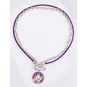 Parure collier & bracelet Violetta Disney