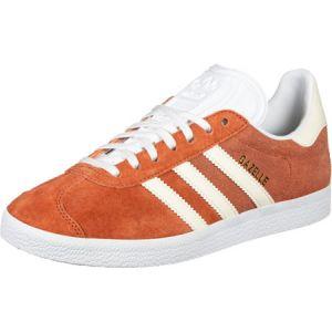 Adidas Gazelle W, Chaussures de Gymnastique Femme, Orange (Rawamb/Multicolore CR Tin/Ftwwht), 39 1/3 EU