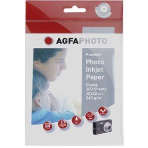AgfaPhoto 100 feuilles papier photo Silver Line 240g/m² (10 x 15 cm)