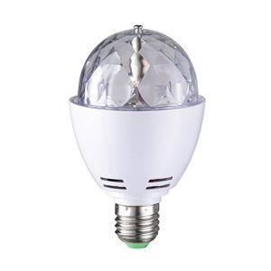 Wofi LED Lampe boule disco E27 3W Variation de couleur