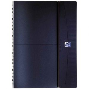 Oxford 400085459 - Agenda semainier Office 2018 - 15 x 21 cm - Bleu