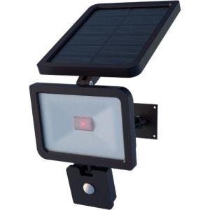 Watt & Home Projecteur solaire orientable noir Xenon 1100 lumens 22,5x16x38 cm