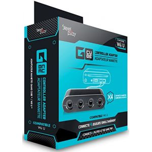 Steelplay Adaptateur manette Gamecube pour Wii U