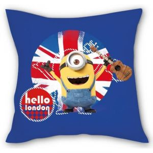Coussin déhoussable Stuart London Minions 40 cm