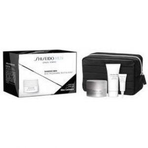 Shiseido Men - Coffret Hydro Master gel, mousse nettoyante, revitalisant total yeux et trousse