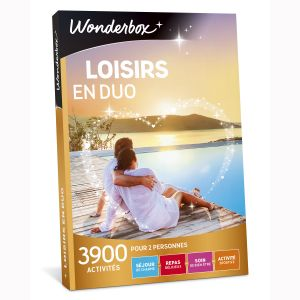 Wonderbox Loisirs en duo - Coffret cadeau 3900 activités