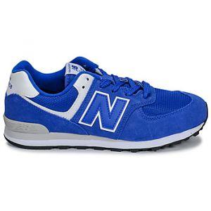New Balance Baskets basses enfant 574 bleu - Taille 36,37,38,39