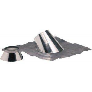 Ten Solin 30 à 45° + plomb OPSINOX Inox diamètre : 125/180 Réf 015128