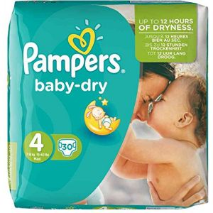 Pampers Baby Dry taille 4 Maxi 7-18 kg - 30 couches