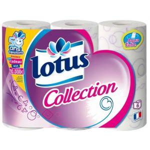 Lotus Papier toilette decoré - Les 6 rouleaux