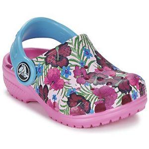 Cross Crocs Classicgrphclgk, Sabots Mixte Enfant, Multicolore (Multi-Color Pink), 19-20 EU