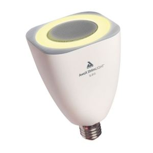 AwoX SLm-B3 StriimLIGHT mini - Ampoule LED avec haut-parleur intégré Bluetooth