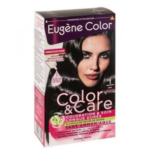 Eugène Color Color & Care - Coloration n°1 noir