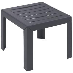 Grosfillex Miami Table Basse De Jardin En Resine 40 X 40 Cm
