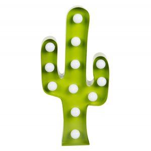 Sass & Belle Panneau lumineux LED Cactus