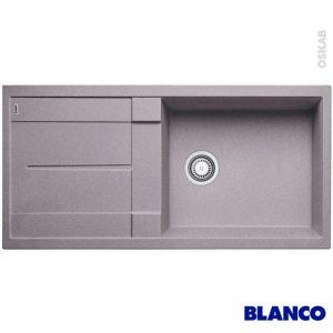 Blanco Evier BlancoMetra XL 6S en Silgranit PuraDur II avec 1 cuve et égouttoir