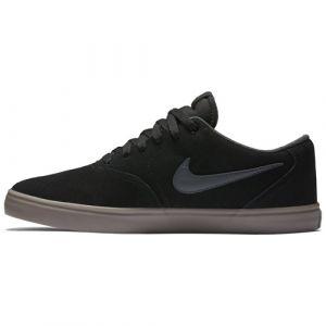 Nike Chaussures sb check solarsoft noir beige gum 44