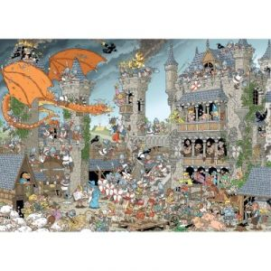 Jumbo Le Château - Puzzle Rob Derks 1000 pièces of History