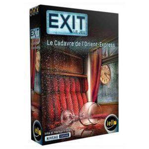 Iello Jeu de réflexion Exit Le Cadavre de L'Orient-Express