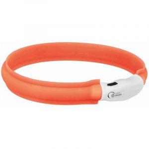 Trixie Flash anneau lumineux usb - XS-S: 35 cm/25 mm, orange